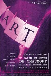 L'art en lettres à Chaumont (52) dans Agenda, rendez-vous, dates à retenir