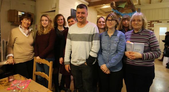 Jean-Philippe Blondel a rencontré les lectrices du journal pour découvrir en avant-première son dernier roman « Un hiver à Paris ».