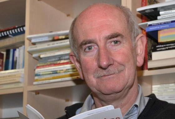 Patrice Breno voulait s'inscrire dans la durée. En plus de sa revue, il édite une collection de livres.-EdA