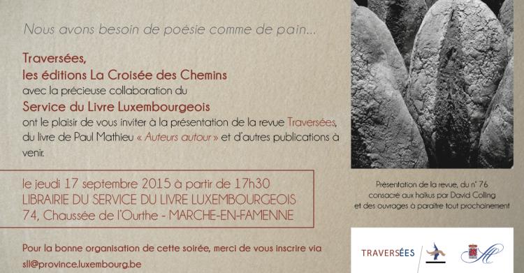 Traversées - Invitation - 17 9 15