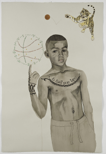 ©Helene CAUVIN, SAMUEL dessin sur papier