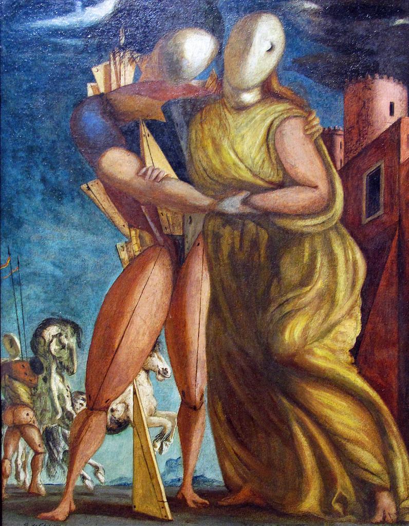 La lumière et l'Alphabet Sur « Hector et Andromaque, 1924 » de Giorgio DeChirico