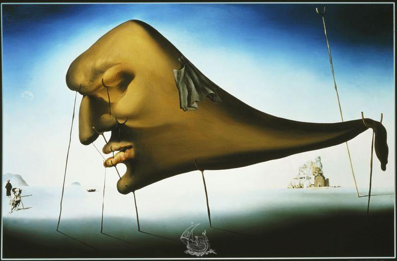 Salvador Dali, le sommeil etl'éveil