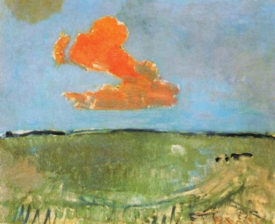 paysage-avec-nuage-rouge-1907